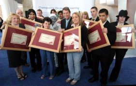 Winners with Gordon Burns